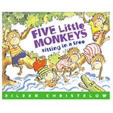 5 Little Monkeys Sitting In A Tree