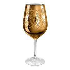 Brocade Goblet in Gold (Set of 4)