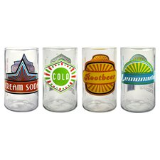 Upcycle Fun in Sun Juice Glass (Set of 4)