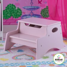 Step N' Store Stool in Petal Pink