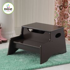 Step N' Store Stool in Chocolate Brown