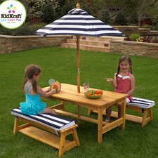 Kids' 4 Piece Table and Chair Set