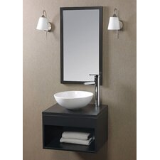 "Catalina 21.62"" Wall Mount Bathroom Vanity"