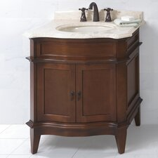 "Traditional Solerno 32"" Standard Bathroom Vanity Set"