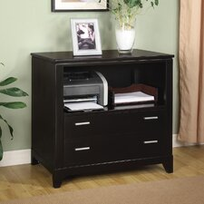 Palisade File Cabinet in Dark Sable