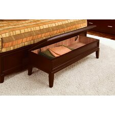Henley Wooden Bedroom Storage Bench