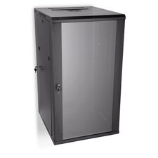 22U Swing Out Wall Mount Cabinet