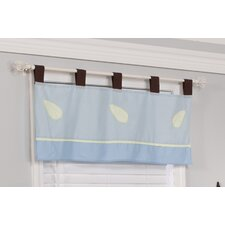 Maddox Monkey Cotton Blend Window Valance