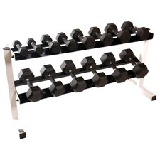 550 lbs Polyurethane Infused Dumbbell Set