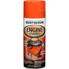 12 Oz Chevy Orange Engine Enamel Spray Paint 248941
