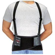 Bodybelts - x-large black bodybelt back support w/non-remov
