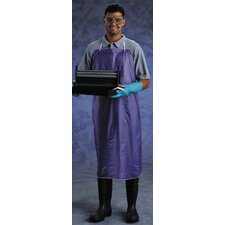 "X 54"" Blue CPP™ 8 mil Vinyl Chemical Protection Apron With Sewn Edge"