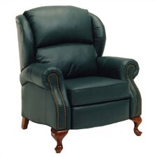 Walden Leather Wing Recliner