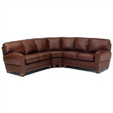 Kensington Leather Sectional