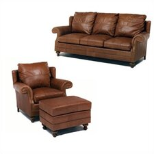 Cartwright Leather Sofa and Chair Set