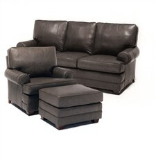 Bridgeport Leather Sofa and Chair Set