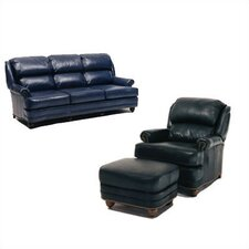Hi Back Pub Sleeper Sofa and Chair Set