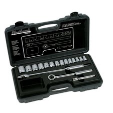"17 Piece Standard Socket Sets - 17 piece 1/2"" drive socket set"