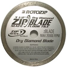 Zip Mate Diamond Cutting Blade  RZDIA1