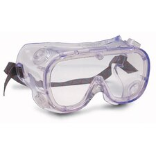 Softsides® Indirect Vent Goggles With Green Frame And Clear Lens