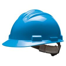 Series Blue Safety Cap With 4 Point Pinlock Headgear And Cotton Browpad