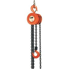Series 622 Hand Chain Hoists - 622 1t 20'lift w/18' hand chain