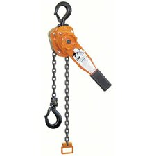 Series 653 Lever Chain Hoists - 653 191/2 ton lever hoist 20' lift