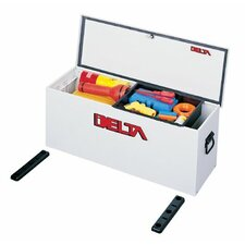 Lock-Down Portable Chests - 2.2cu.ft. delta steel hopper w/baseplate