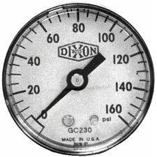 Standard Dry Gauges - 2 steel cbm 0-100 psi dr