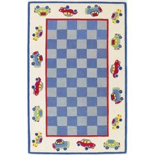 Kidding Around Cars Kids Rug