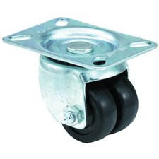 Low Profile Medium Duty Casters - 2x13/16 low profile 97 plate swivel caster