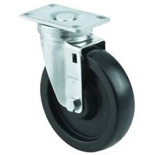 Vulcan Medium Duty Casters - 4x1-1/4 vulcan am plateswivel caster