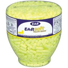 E-A-R® One Touch™ Earplug Dispensers - e-a-rsoft yellow neon blast regular refill