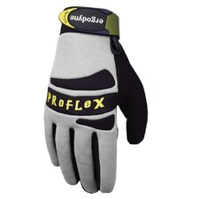 ProFlex® 821 Handler Gloves w/Silicone - 821 handler with silicone (xl) gray