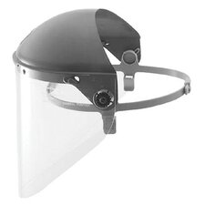 Fibre-Metal - High Performance Protective Cap Faceshields High Performance Face Shield Less Window W/Qu: 280-F6500 - high performance face shield less window w/qu