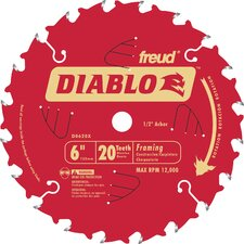 "6"" 20T Diablo™ Saw Boss Blade  D0620X"