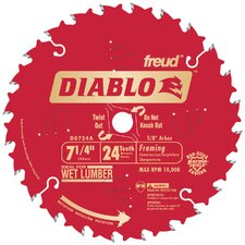 "7-1/4"" 24T Diablo™ Circular Saw Framing Blade"