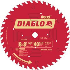 "8-1/4"" 40T Diablo™ Finish Work Circular Saw Blade  D0840X"