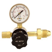 Flow Gauge Regulators - gw 33-190ar-50 &mig meter8 argon  cga580