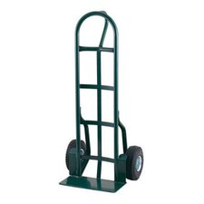 "26T Series 1000 Pound Frame Capacity Loop Handle Truck With 10"" Pneumatic 4-Ply Tire-Tube Wheels"