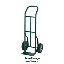 "52T Series Continuous Handle Steel Hand Truck With 10"" Pneumatic 4-Ply Tire-Tube Wheels"