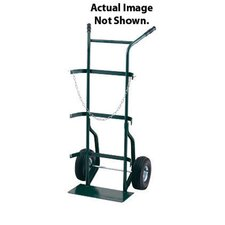 "700 Series Cylinder Hand Truck For Medium To Large Cylinders With 10"" Pneumatic 2-Ply Tubeless Tires"