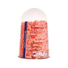Leight® Leight® Source 400 Earplug Dispenser Refill (200 Pair Single Use Matrix™ No-Roll Orange Foam Corded Earplugs Per Bag)