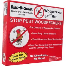 Woodpecker Repeller Kit