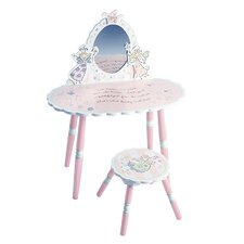 Fairy Wishes Vanity Set with Stool