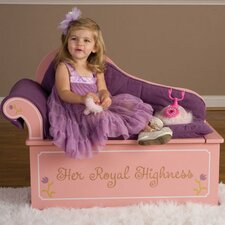 Princess Painting Kid's Chaise Lounge