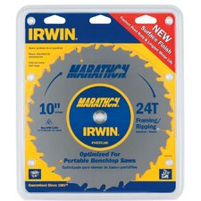 "10"" 24T Marathon® Miter & Table Saw Blades"