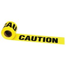 "Barrier Tapes - 300' x 3"" wet paint caution tape"