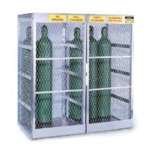 "X 60"" X 32"" Vertical 40471 Cylinder Storage Locker For Flammables"