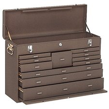 Machinists' Chests - 00094 machinist chest 11drawer brown